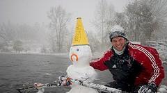 Snowman Sculler