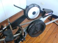 Top view of Indoor Sculler and Rowperfect compared