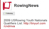 Rowing News tweets