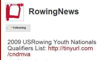 Rowing News tweets