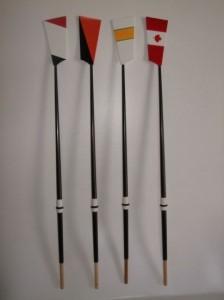 Miniature Replica Oars