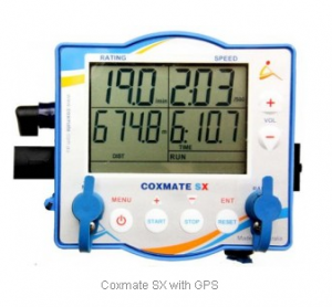 Coxmate SX gives GPS speed for rowing boat coxswains