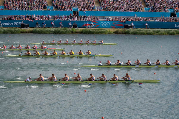 Photo of the M8+ Repechage, London 2012