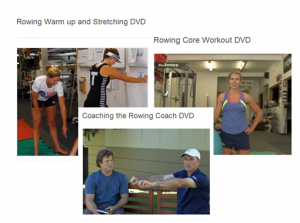 Core Workout, Coaching the Coach & Warming up DVDS