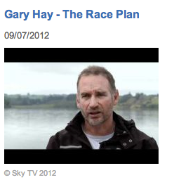 Gary Hay, Coach, Rowing New Zealand