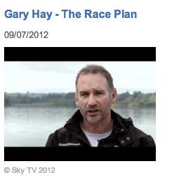 Gary Hay, Coach, Rowing New Zealand
