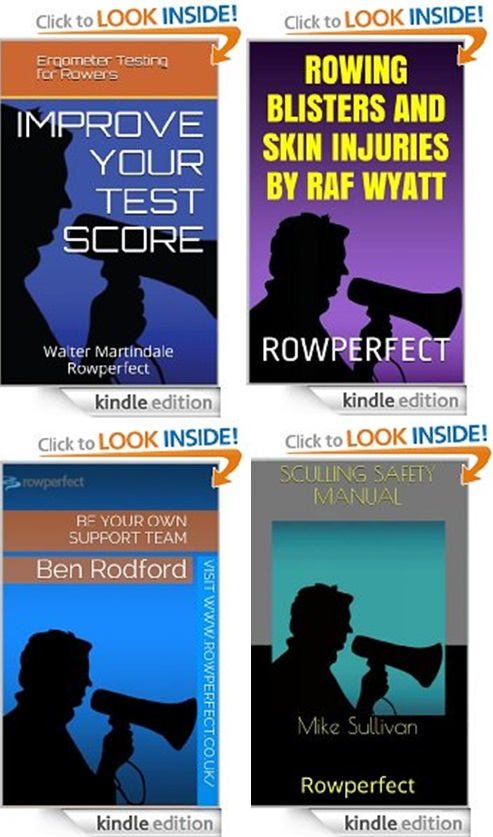 Rowing books by Rowperfect