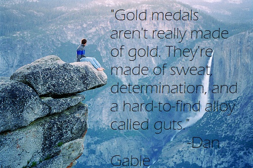 What Gold Medals Are Made Of