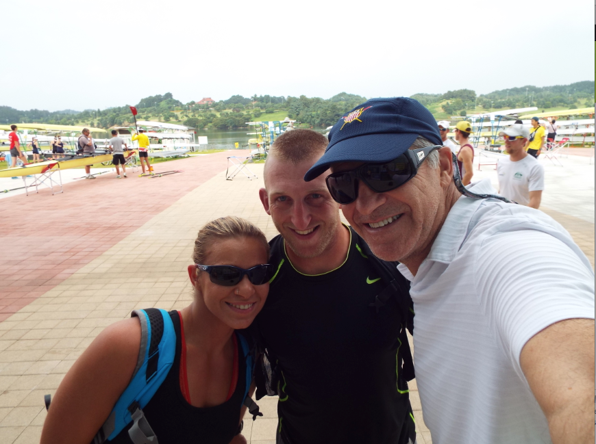 USA Adaptive coach, Brad Alan Lewis in Korea