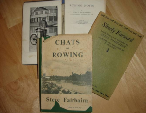 Steve Fairbairn's printed books - collectors editions