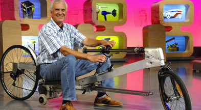 Row & Roll Australian rowing bike