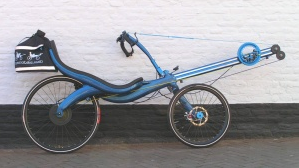 Dutch rowing bicycle