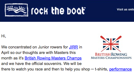 Rock The Boat Newsletter May 2014 Rowperfect rowing