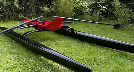 Rocat the Rowing Catamaran