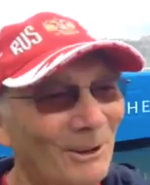 Mike Spraklen, Rowing coach to Russian 8