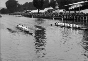 Dead heat at Henley Royal Regatta 1954