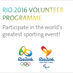 Rio 2016 volunteer program