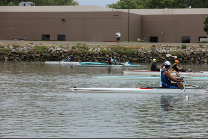 Adaptive Rowers regatta at BIAC