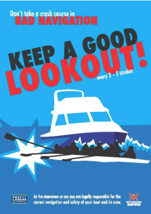 River safety poster