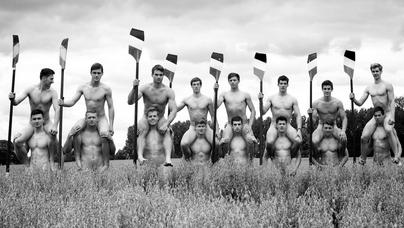 Warwick Uni naked rower fundraising calendar