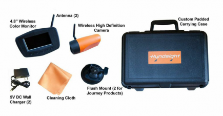 Hyndsight Cruz kit components