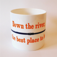 Lea Rowing Club fund raiser mug
