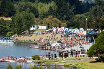 Lake Karapiro, NZ Rowing