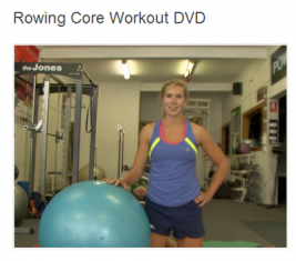 Rowing Core Workout DVD