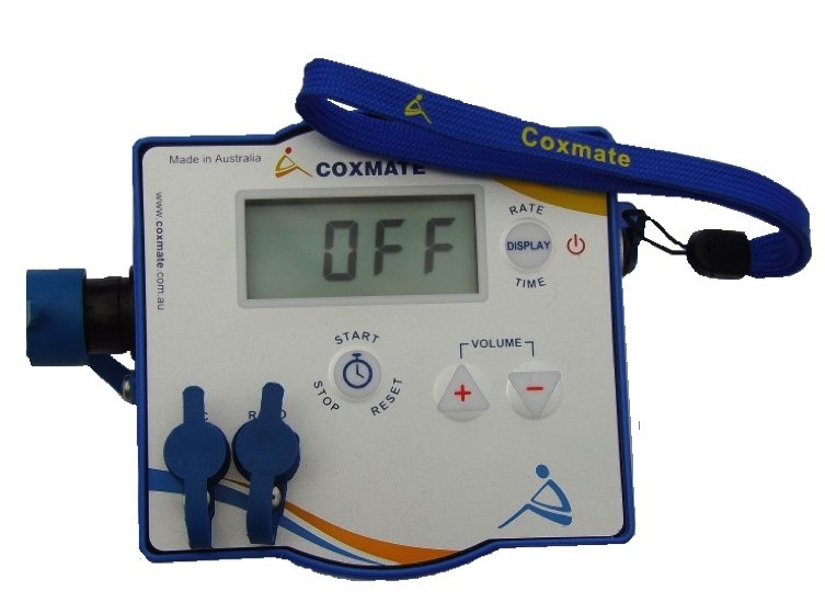 Coxmate AA Plus - low cost amplifier with rate and timing. rowing, coxing