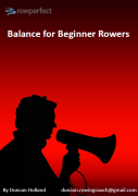 balance for beginner rowers