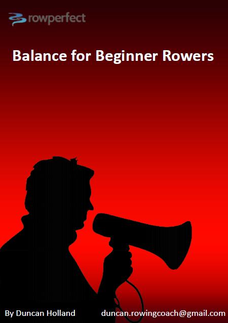 balance for beginner rowers