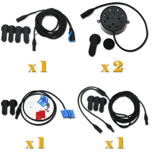 Coxmate 6W Four 2 Speaker / Harness System w/ Seat Sensor