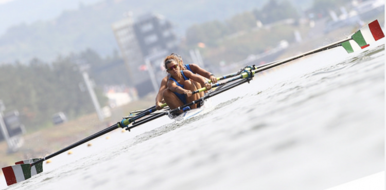 Italy rowing, women rowing, strong women row, WorldRowing