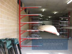 rowing boat, boat rack, space saver rowing, rowperfct