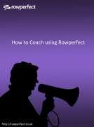 How to coach using Rowperfect ebook