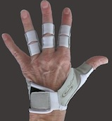 Rowing glove - articlulated fingers