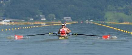 Switzerland's lightweight men's pair