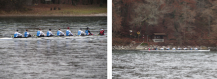 Belvoir Freshmen Racing rowing