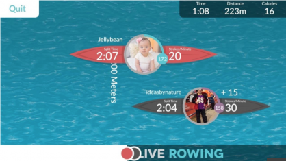 live rowing
