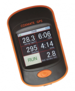 Coxmate GPS for coxless boat speed measurement - high-quality waterproof, touchscreen, stroke rate measurement
