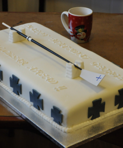 miniature oar, cake rowing,