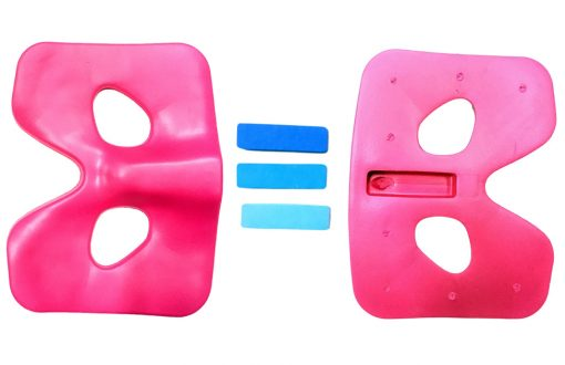 Rowing seat pad adjustment blocks