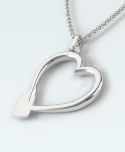 Rowing Heart Pendant