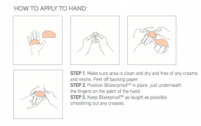 Blisterproof instructions rowing blister prevention