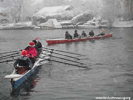 Rowing Santa and Other Christmas Funnies British Rowing