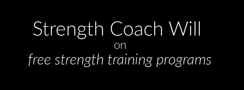 Will Ruth's response to free strength training programs