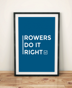 Rowing Art