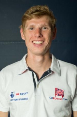 GB lightweight Rower, Jono Clegg