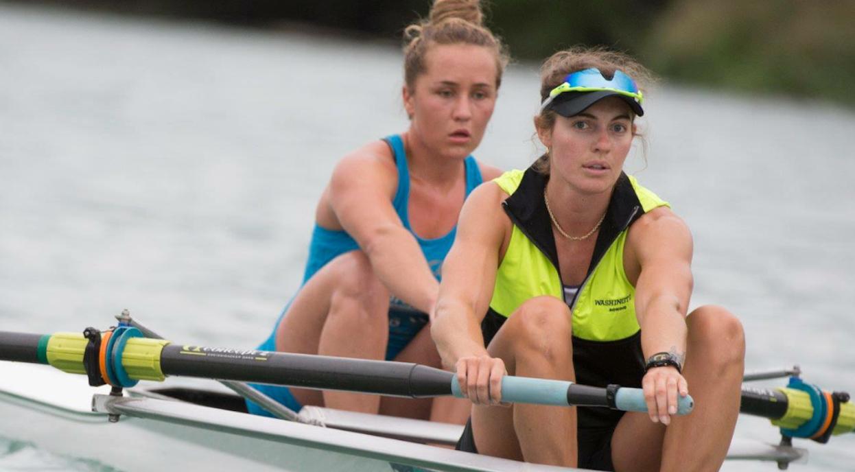 Rowing Sweep pair 2