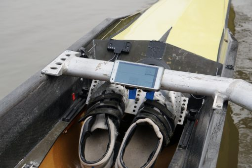 Rowing Boat Smartphone mount wing rigger